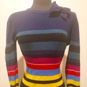 Sonia Rykiel Paris Vintage Stripe sweater XS